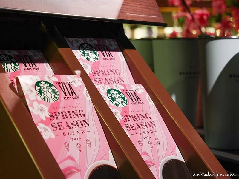 Starbucks Malaysia Spring Season Blend Via