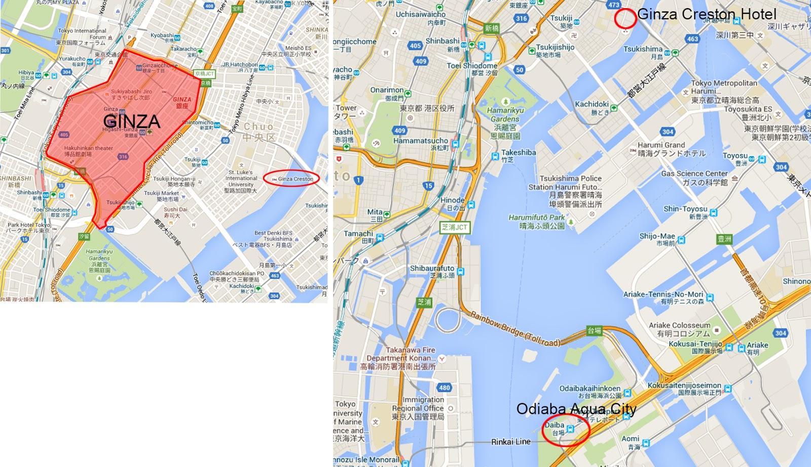 Jaiks Travel Blog Day 15 Ginza Odaiba