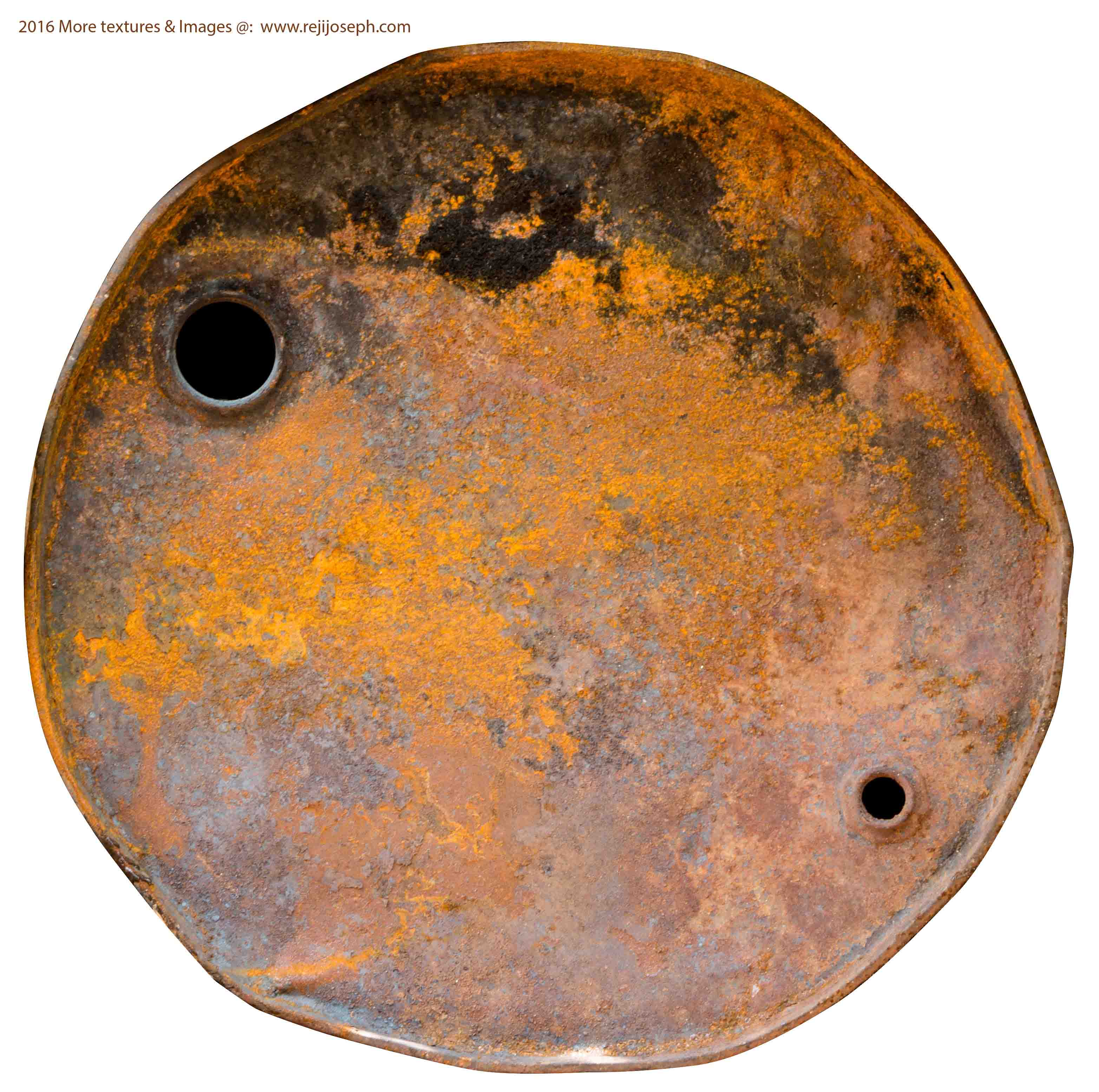 Rusty metal Oil can texture 00020