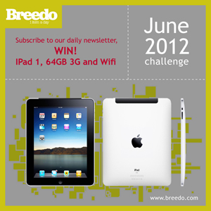 Breedo, social media, giveaway, win, Lebanon, Beirut, Middle East, iPad, win an iPad