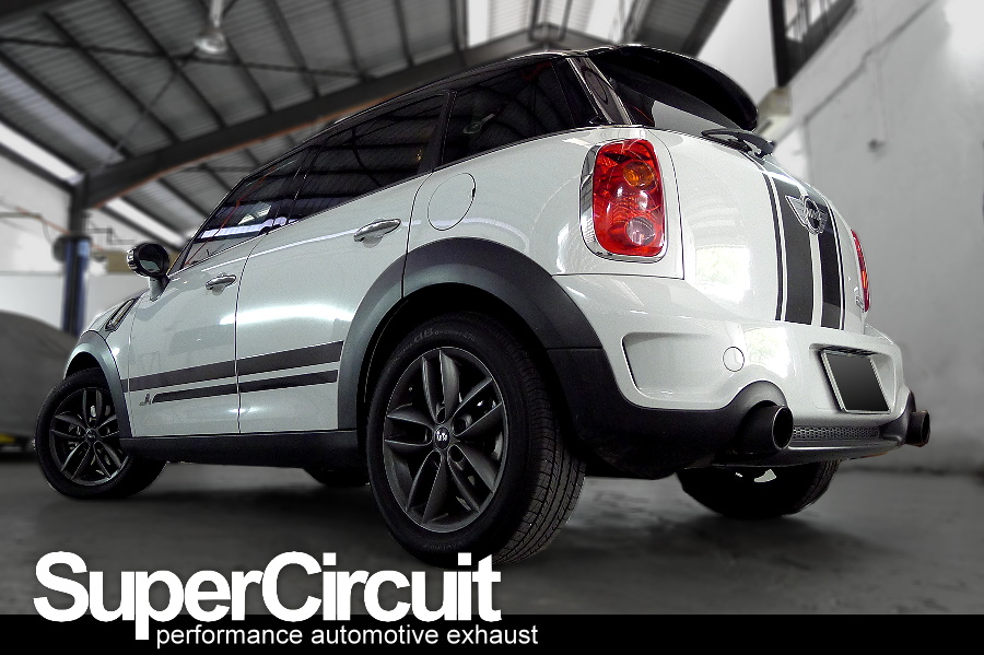 SUPERCIRCUIT Exhaust Pro Shop: Mini Cooper Countryman R60