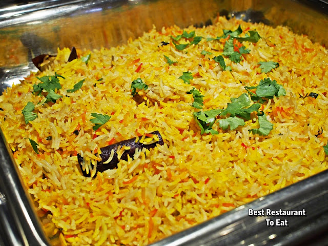 Royal Darbar Restaurant Buffet Biryani Rice