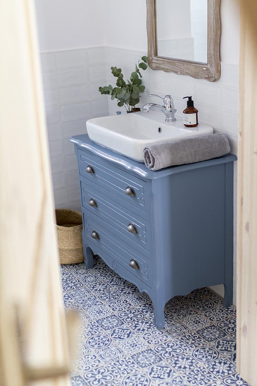 Nowy Dom Gu Niebieska łazienka Na Parterze Gu Tworzy