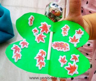 DIY membuat permen kupu-kupu