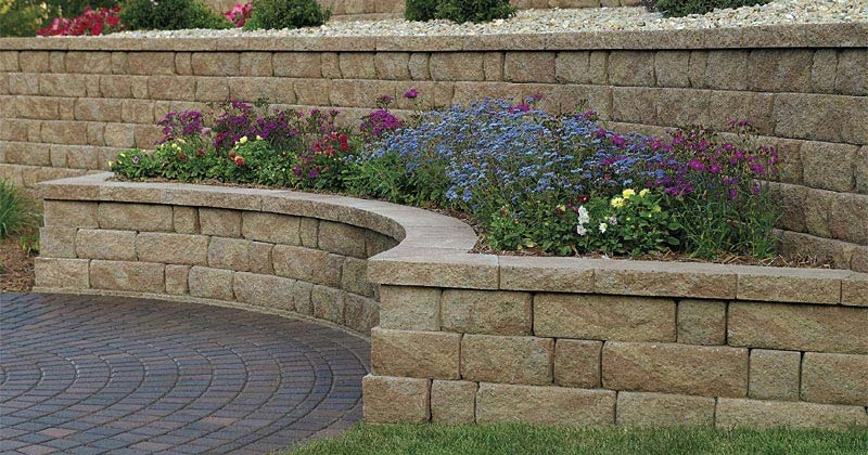 Landscaping Bricks Walmart : Acidathome landscape blocks walmart