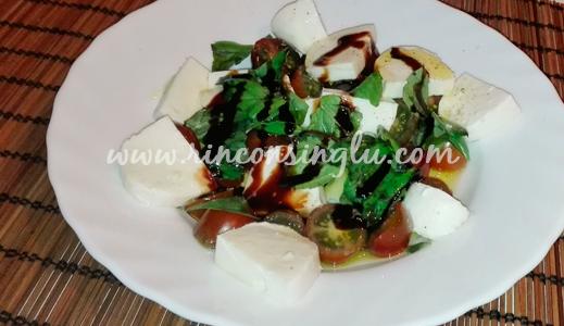 receta de ensalada caprese sin gluten