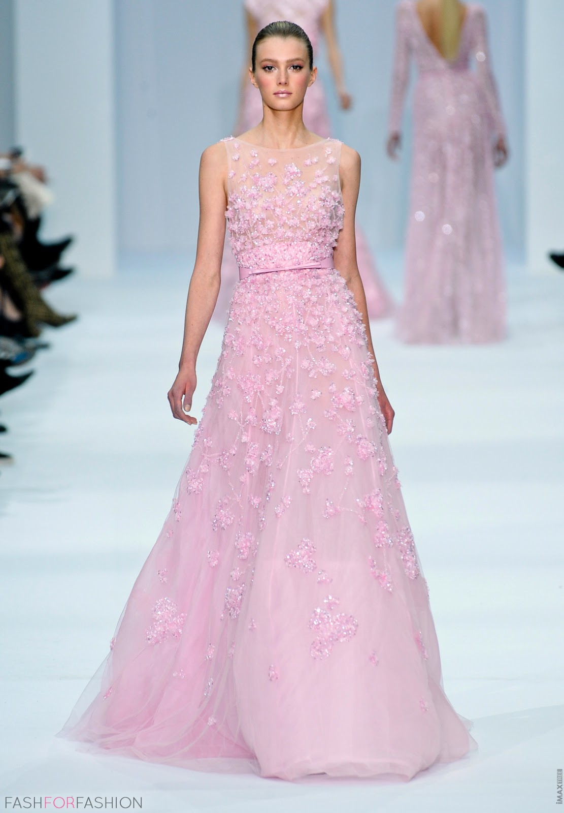 By Elie Saab Light Pink Dress