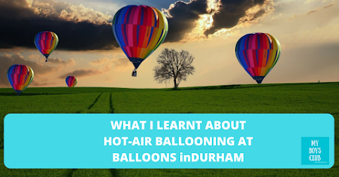 Hot-air ballooning at Balloons inDurham (AD)