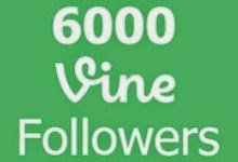6000 Vine Followers