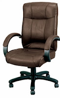 Brown Leather Odyssey Executive Chair