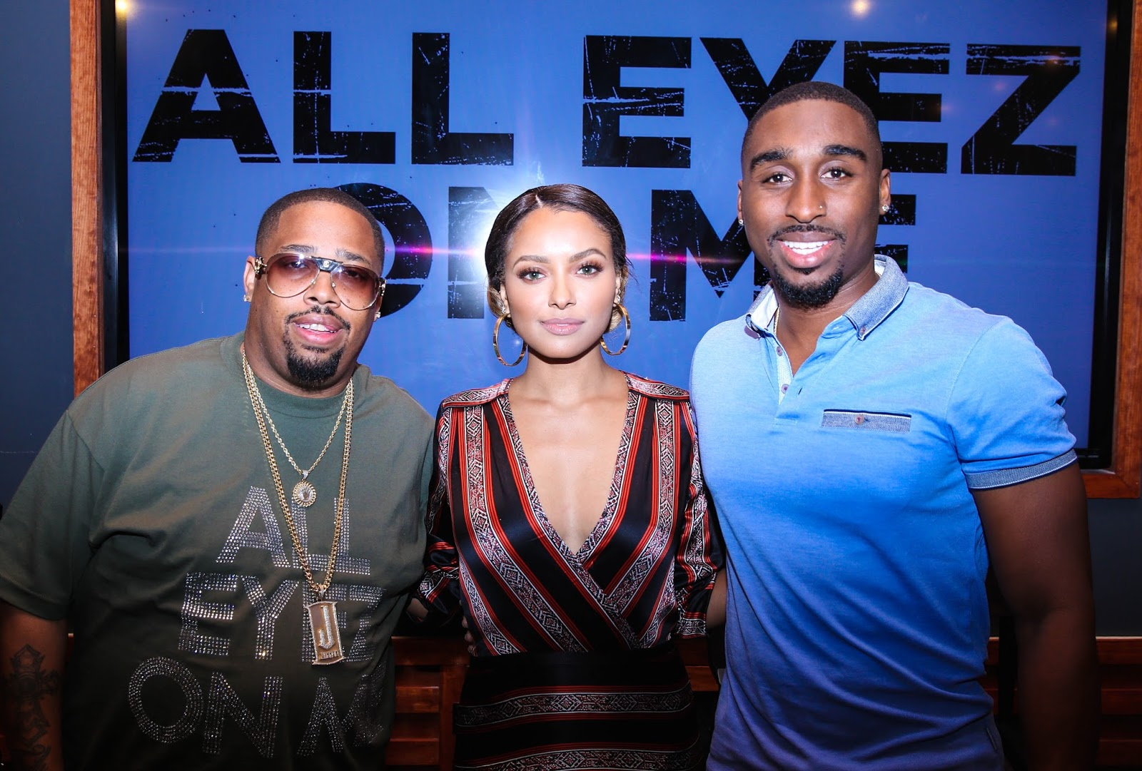 ALL EYEZ ON ME Press Conference in Atlanta  via  www.productreviewmom.com