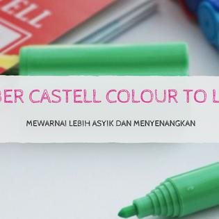 Faber Castell Colour To Life: Mewarnai lebih asyik dan menyenangkan