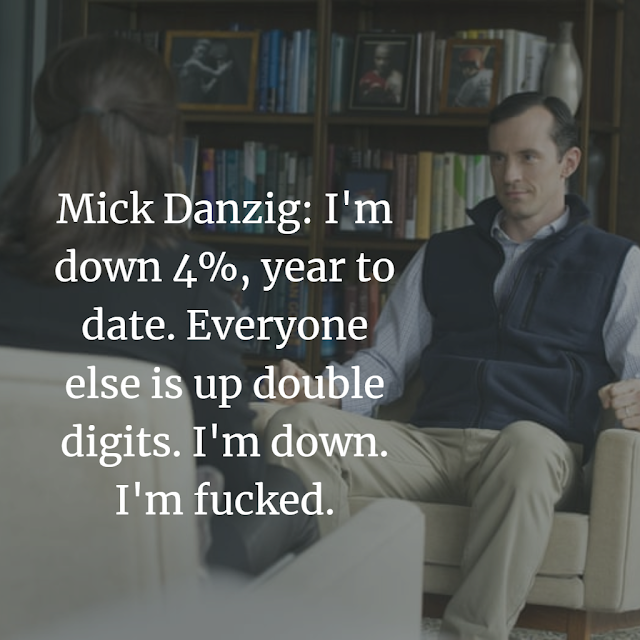 Mick Danzig Top Billion TV show quotes