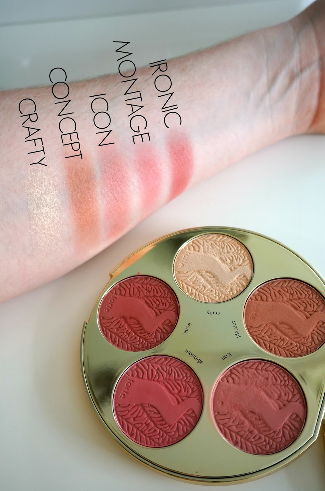 Rebecca Lately Tarte Color Wheel Blush Palette Review
