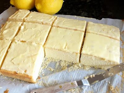 Lemon Velvet Squares