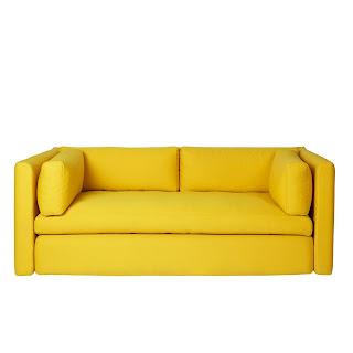 sofa chester kuning modern