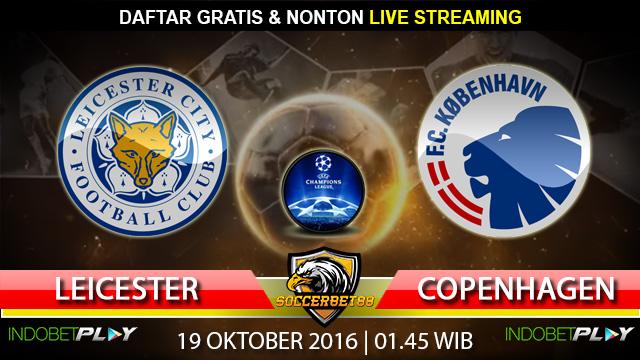 Prediksi Leicester vs FC Copenhagen 19 Oktober 2016 (Liga Champions)