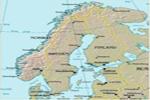 Península Escandinava, en el norte de Europa