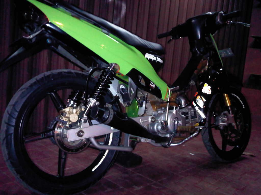 Modif Yamaha Jupiter Mx Modifikasi Motor Yamaha