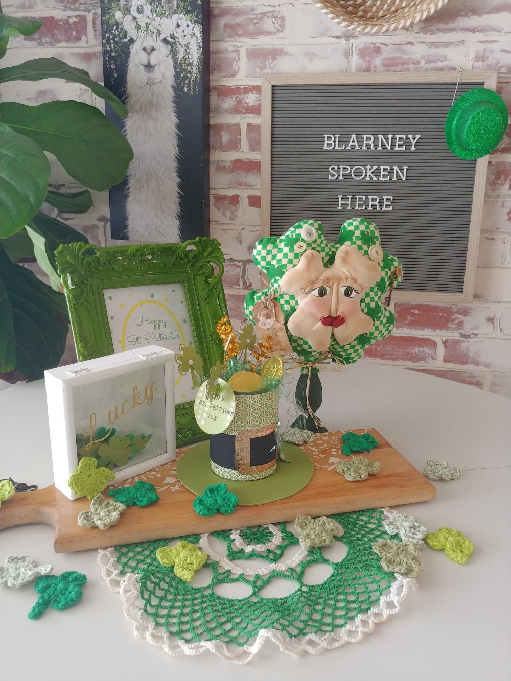 St. Patty's Day table decor