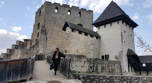 Mini trip & outfit post: Old castle Celje