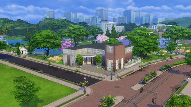 Sims 4 Cc Newcrest Unversity - Year of Clean Water