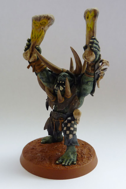 Ironjawz Warchanter for Warhammer Age of Sigmar