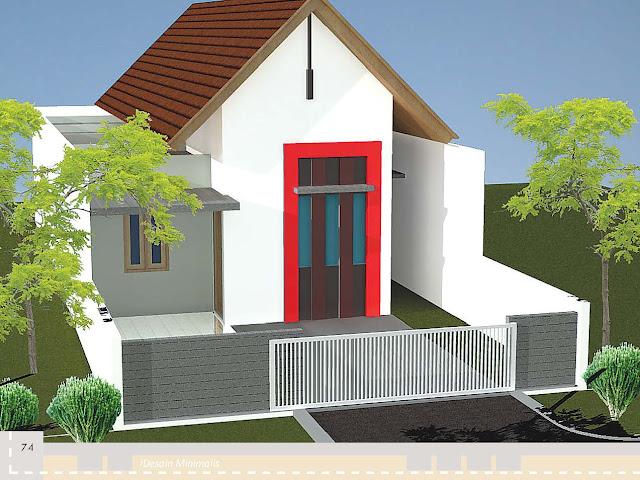 Desain Rumah Luas Bangunan 90 s d 100 meter persegi