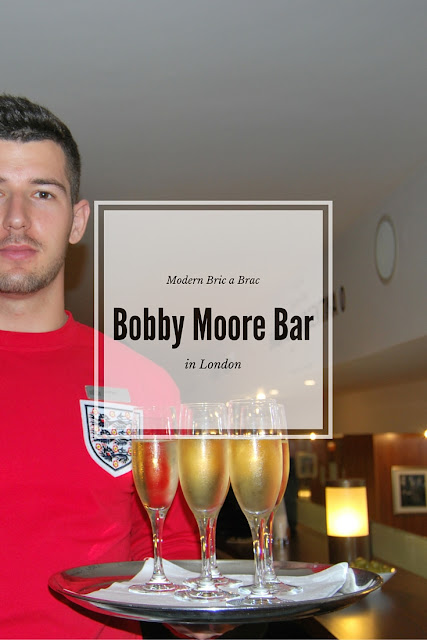Bobby Moore auction and bar in London, photo by Modern Bric a Brac