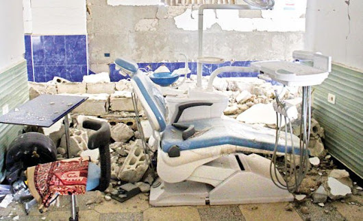 10 dead as #airstrikes hit #Syria #hospitals