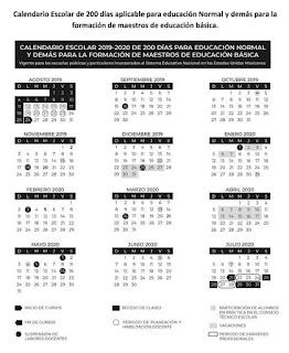 Ajustes al Calendario Escolar 2019-2020