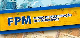 FPM: Municípios receberão último repasse de janeiro nesta segunda-feira dia 30