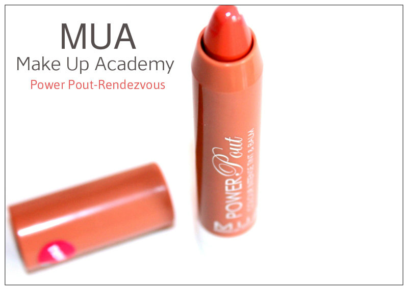 Review: MUA Power Pout-Rendezvous – Colour Intense tint and balm