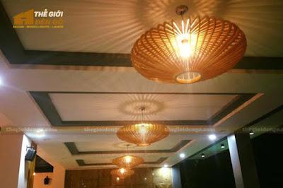 Thế Giới Đèn Gỗ - Những mẫu đèn trang trí quán cafe tuyệt đẹp 11