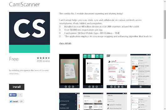 CamScanner brings a New User Exclusive features for Free on Windows Phone