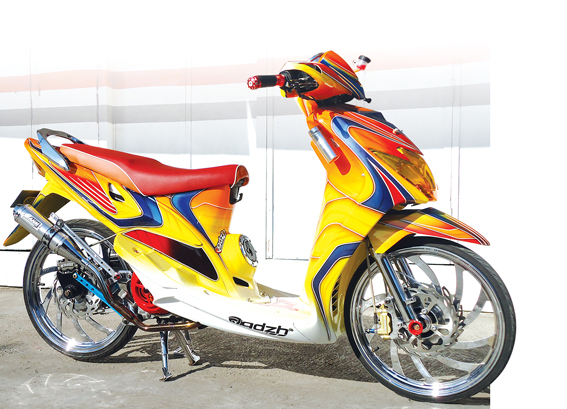 kumpulan modifikasi cat mio sporty