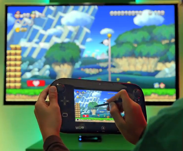 El Gamepad y Super Mario Bros Wii U