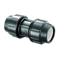 jual fitting pipa hdpe coupler compression