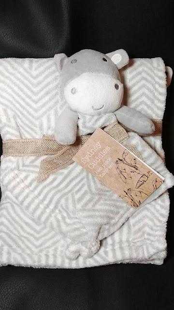 Hippo Blanket Set