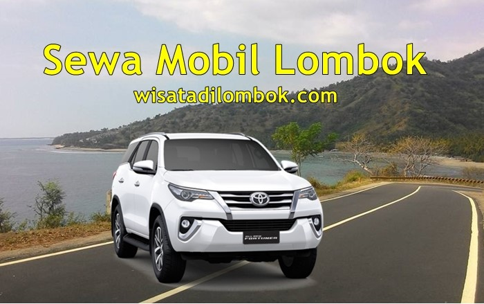 Jasa Sewa Mobil Fortunar Lombok