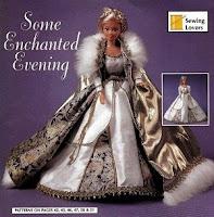 Vestido de Época Para Barbie Com Moldes - Guinevere