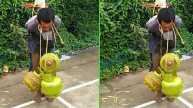 Ketangkap Basah Curi Gas, Lihat Hukuman