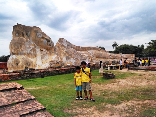 2018 JULY ワット・ロカヤスター(Wat Lokaya Sutha)