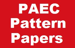 Pattern Paper Written Test Preparation For PAEC Jobs NOTES, PATTERN PAPERS, MCQs, Written Test Preparation For (Pakistan Atomic Energy Commission)