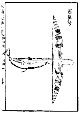 Ming Chinese Single-shot crossbow