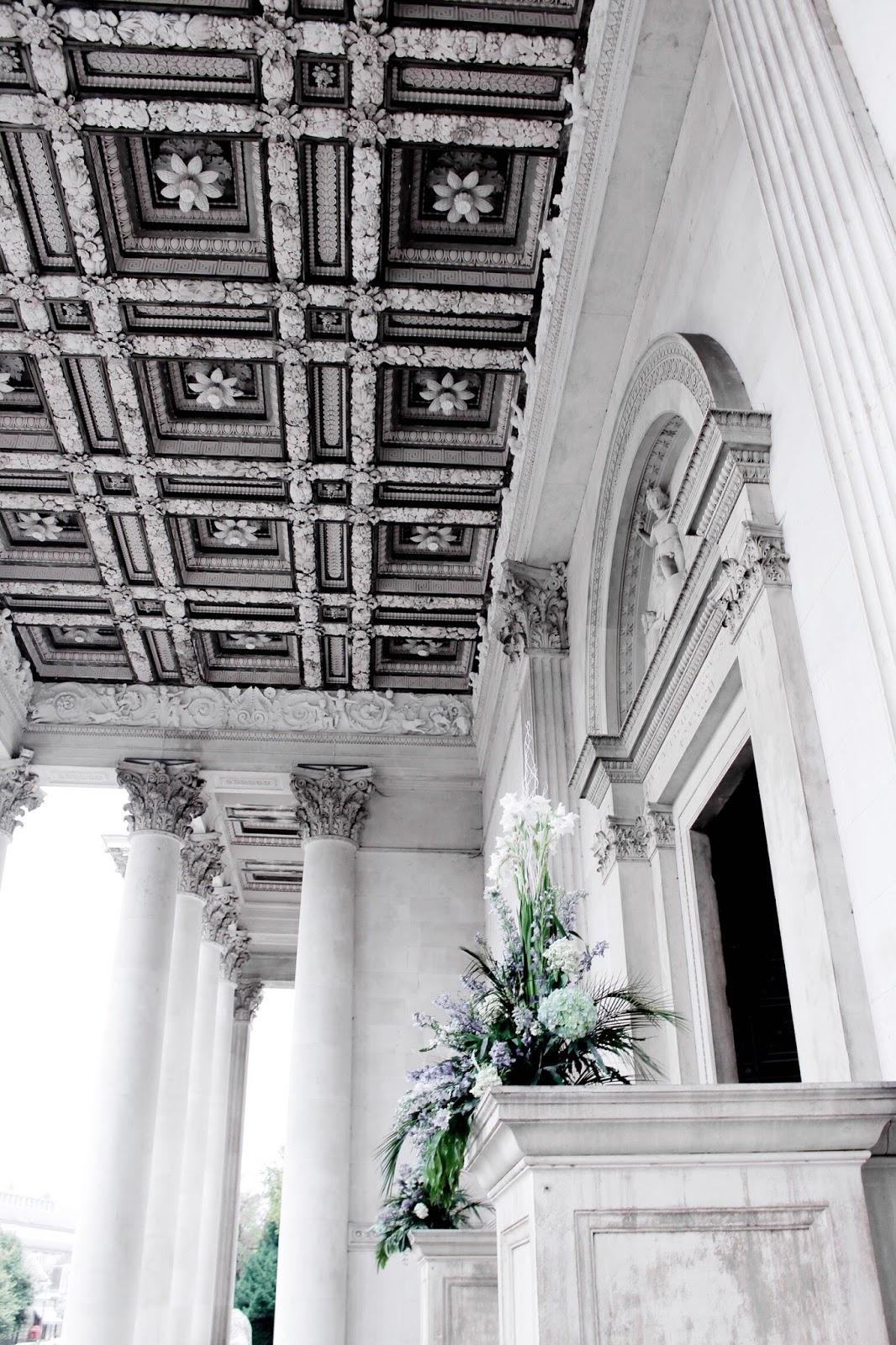 The Fitzwilliam Museum Cambridge Ornate Ceiling