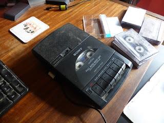 cassette recorder, old skool, retro