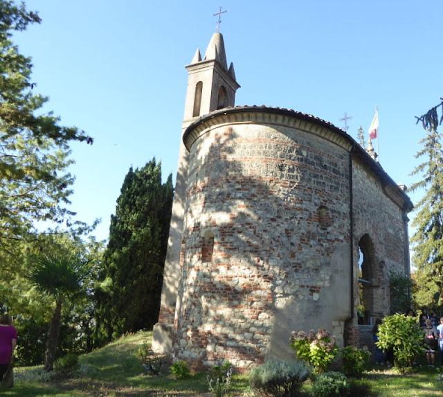 chiesetta romanica di San Quirico a Cella Monte
