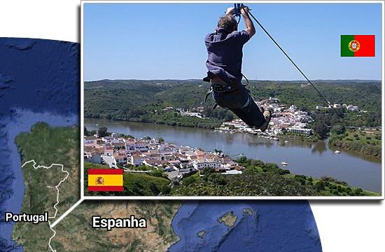 Fronteiras pelo mundo - Portugal e Espanha