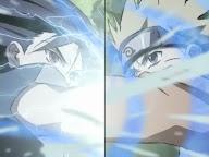 Chidori vs Rasengan Naruto vs Sasuke